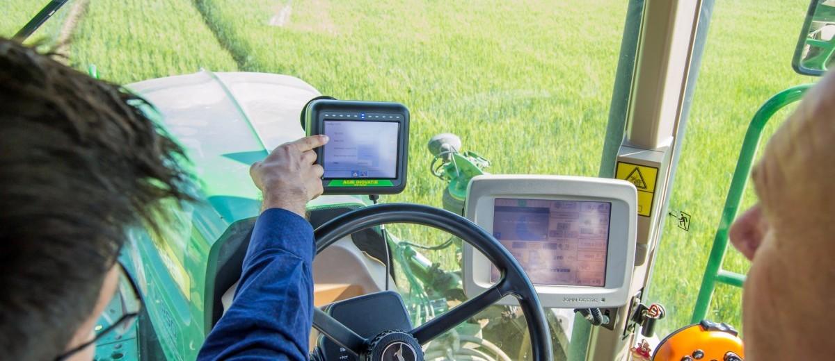GPS AGRICOL pentru tractoare