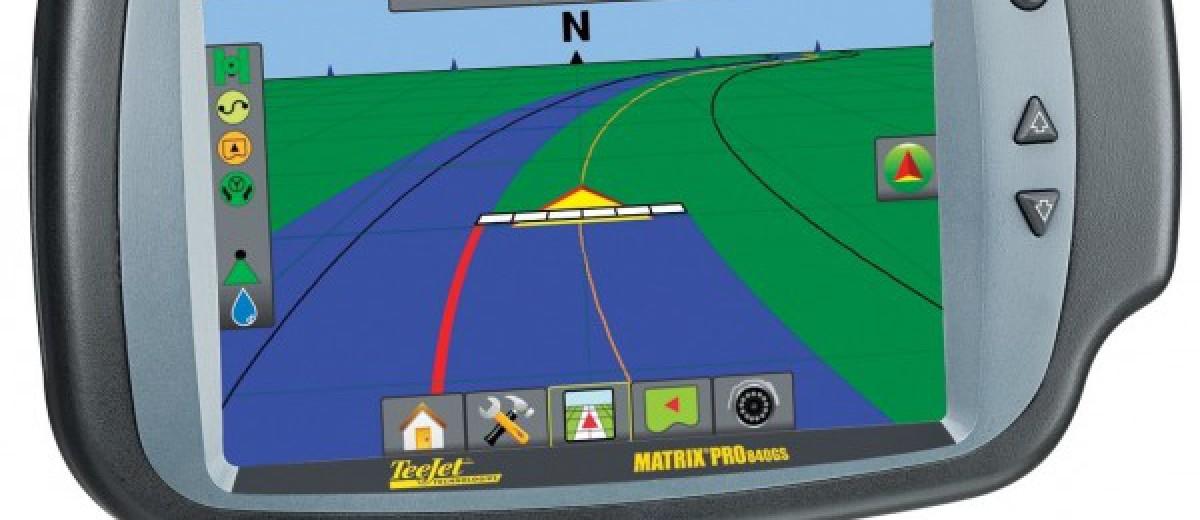 GPS AGRICOL pentru tractoare  Matrix 840
